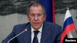 Ministri i Jashtëm i Rusisë, Sergei Lavrov.