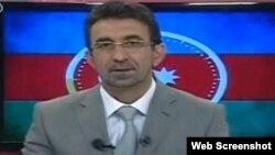 """""""Azərbaycan saatı"""" televiziya proqramının yaradıcısı və aparıcısı Qənimət Zahid"""