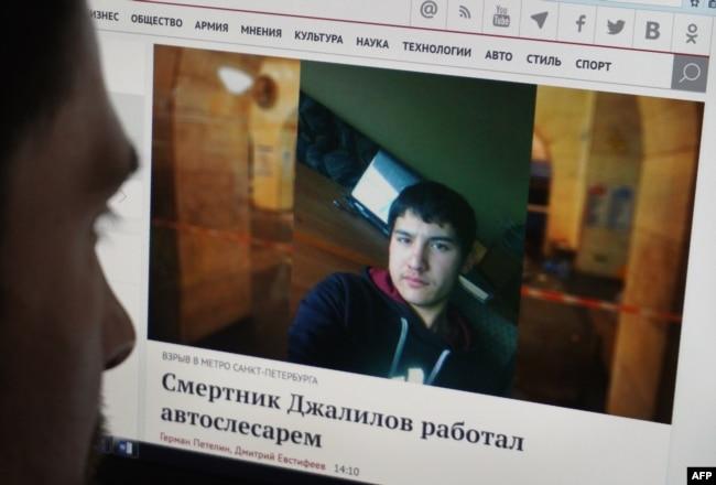 Фотография Акбаржона Джалилова на его страничке в