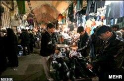 На базары ў Тэгеране