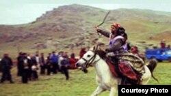 Şahsevən elində at yürüşləri