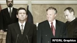 Владимир Яковлев, Анатолий Собчак и Владимир Путин