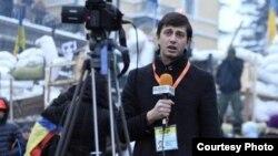Аляксандар Баразенка на Майдане ў Кіеве