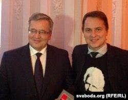 Браніслаў Камароўскі і Францішак Вячорка