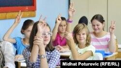 Iz jedne od osnovnih škola u regiji, septembar 2012.