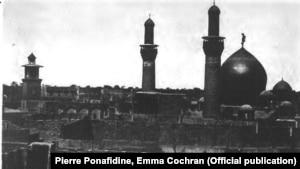 عکس منتشرشده در کتاب از حرم امام سوم شیعیان؛ کربلا