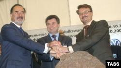 В Калуге был заложен первый камень российского завода Volkswagen