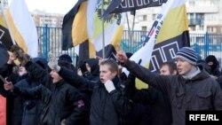 Protesti mladih ruskih nacionalista, novembar 2009, ilustrativna fotografija