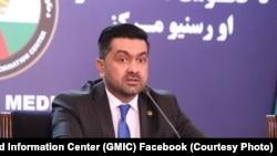 غفور احمد جاوید سخنگوی شورای عالی صلح افغانستان