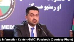 د سولې عالي شورا ویاند غفور احمد جاوید