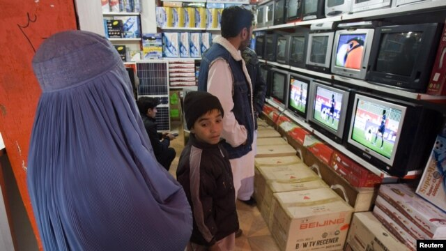 Many private TV stations have sprung up in Afghanistan in recent years.