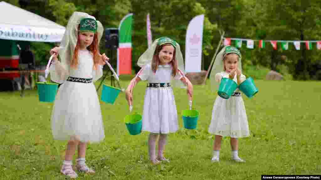 Татарский праздник Сабантуй отмечается, как правило,с конца мая до конца июня.