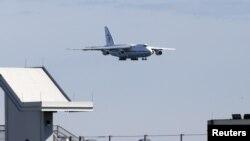 Российский самолет с гуманитарной помощью