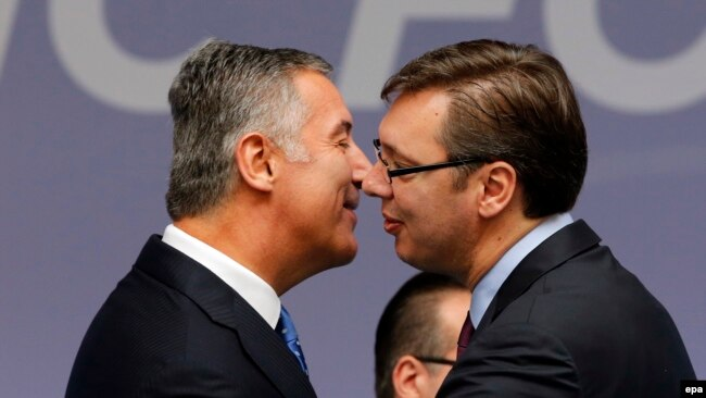 Milo Đukanović i Aleksandar Vučić, arhivska fotografija