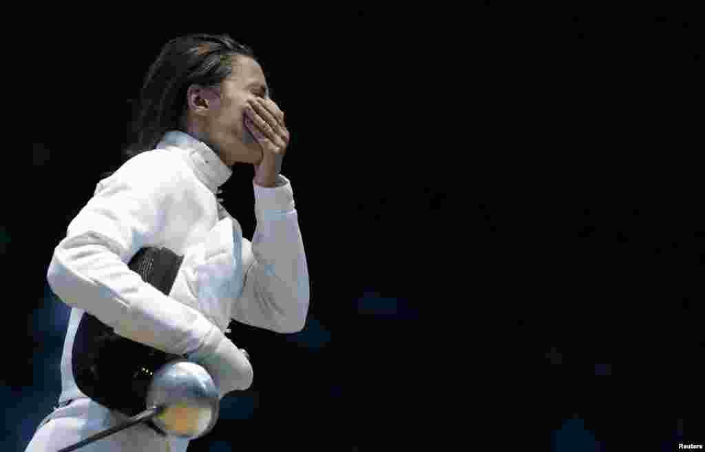 ШпажисткаЯна Шемякіна здобула перше золото для України
