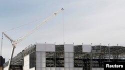 Arena da Baixada u izgradnji za SP u januaru 2014.