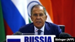 Russian Foreign Affairs Minister Sergei Lavrov (file photo)