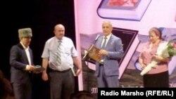 Нохчийчоь- Яздархочун Бексултанов Мусан 60 шо кхачар даздеш, Соьлж-ГIала, Къман театр, 25Ман2014