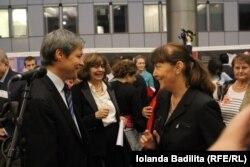 Dacian Cioloş, Ana Blandiana Monica Macovei