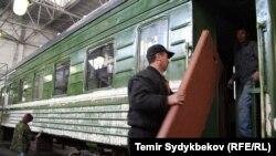 Кыргызстандагы темир жол.