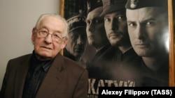 Архивное фото: польский кинорежиссер Анджей Вайда в Москве, 18 марта 2008 года