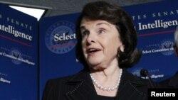 ABŞ-nyň Senatynyň Aňtaw komitetiniň ýolbaşçysy Diýanne Feinsteýn.
