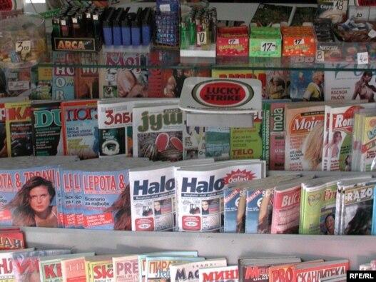 Kiosk sa novinama u Beogradu, Ilustrativna fotografija: Vesna Anđić