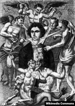 Marquis de Sade-ın xəyali portreti