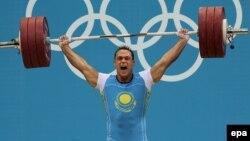 Илья Ильин, қазақстандық ауыр атлет.
