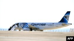 Самолет А320 авиакомпании EgyptAir. Иллюстративное фото.