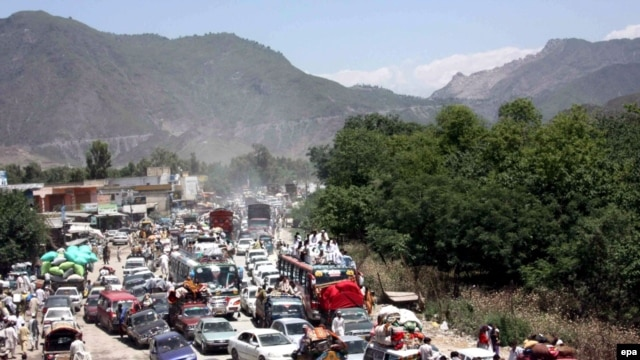 Nearly 2 million Pakistanis have the Malakand region in recent weeks.