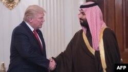 Donald Trump i Mohammed bin Salman