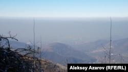 Алматы маңындағы тау көрінісі (Көрнекі сурет).