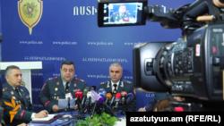 Пресс-конференция оперативного штаба полиции, Ереван, 14 декабря 2015 г․