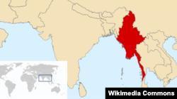 Harta e Birmanisë