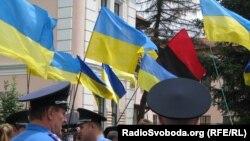 Мітинг на захист української мови в Сімферополі, 7 липня 2012 року
