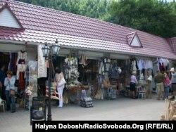 Cувенірний ринок в Яремче
