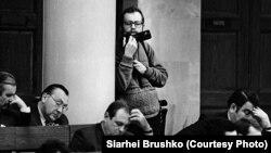 Сяргей Брушко, фота з архіва Зьмітра Брушко