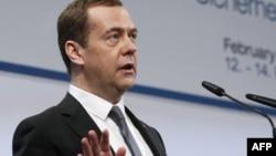 Рсеей премьер-министрі Дмитрий Медведев. Мюнхен, 13 ақпан 2016 жыл.