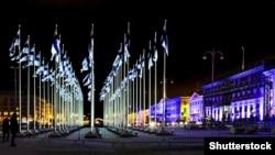 У день святкування 100-річчя незалежності Фінляндії. Гельсінкі, 6 грудня 2017 року
