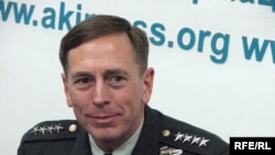 Kyrgyzstan -- General David Petraeus, US Central Command chief, in Bishkek, 19Jan2009