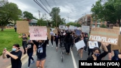 Протест в Мэриленде, США
