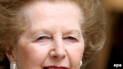 Ұлыбританияның бұрынғы премьер-министрі Маргарет Тэтчер. 15 мамыр, 2007 жыл.