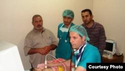 الطبيب المعالج لاطفال دهوك المرضى في القلب