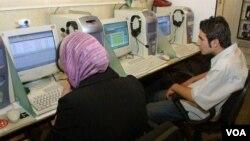 Ինտերնետ սրճարան Իրանում, արխիվ