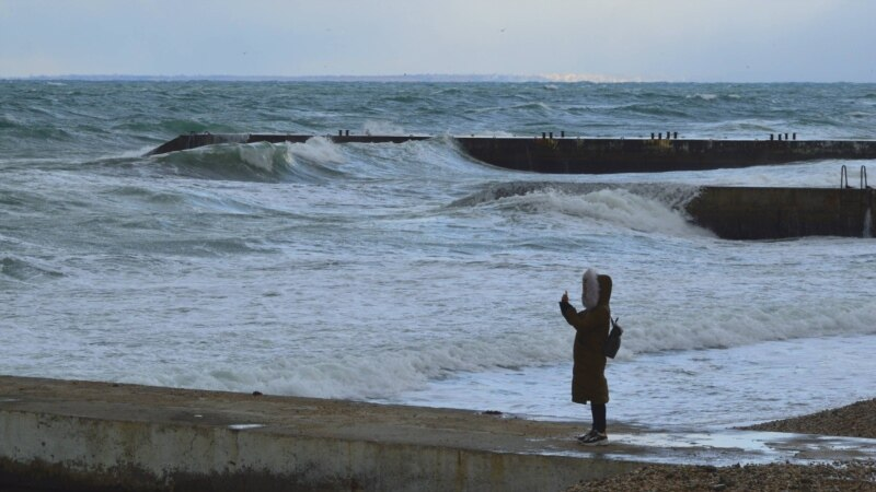В Крыму в среду – дожди и штормовой ветер