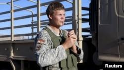 Джон Коул, американский доброволец, сражающийся в Ираке на стороне курдских ополченцев, фото Reuters