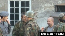 Kristijan Milić na snimanju filma