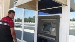 Aşgabat: Bankomatlaryň öňünde ýene uly nobatlar, ýene nagt pul ýok...