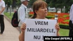 """Protestul Mișcării de rezistență națională """"Acum"""" împotriva noii legislații fiscale. 27 iulie 2019"""